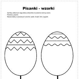 Pisanki - wzorki - Printoteka.pl
