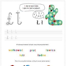 Litera A Zestaw Printotekapl