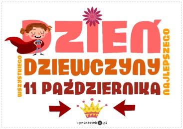 Dzień Dziewczyny - Printoteka.pl