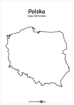 Polska Krainy Geograficzne Rzeki Wojewodztwa Miasta Sasiedzi