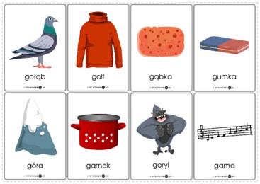 Logopedyczne gry, ćwiczenia z języka, karty do wydrukowania ...
