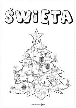 Lapbook O świętach Bożego Narodzenia Printotekapl
