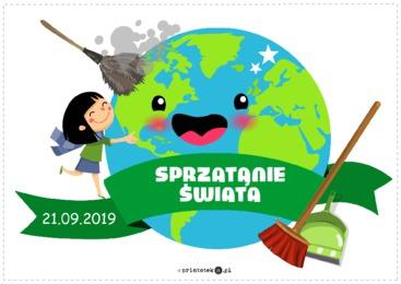 Sprzątanie świata Printotekapl