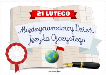 Międzynarodowy Dzień Języka Ojczystego - 21 lutego - Printoteka.pl